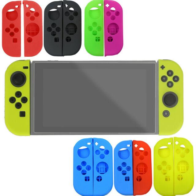 Fundas De Silicona Suave Protector De La Piel Kit Conjunto de accesorios para Nintendo Switch