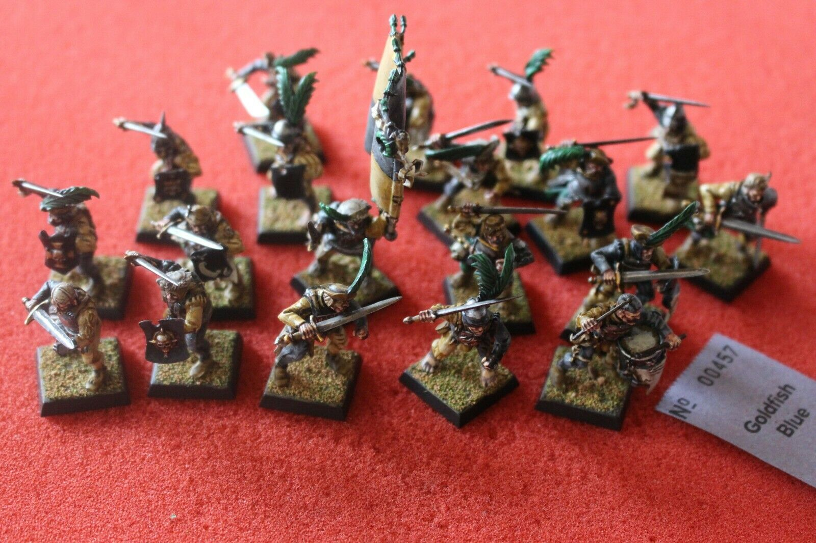 Games WORKSHOP WARHAMMER REGGIMENTO DI GUARDIA freeguild dipinto Empire State TRUPPE