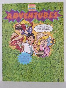 DISNEY BURGER KING KIDS CLUB ADVENTURES VOLUME 4 ISSUE 8 BONKERS CARTOON 1993