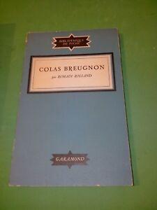 Colas-Breugnon-Romain-Rolland-Garamond-1948