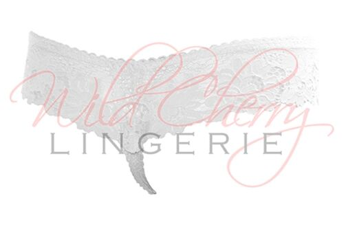 Daniella White Collection Thong Panty VIPA Lingerie