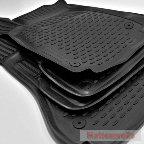 Mattenprof 3D Gummimatten Gummifußmatten für Audi A4 B9 Avant ab Bj.8//2015 Nov