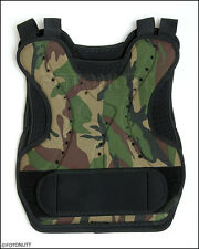 NEW! CAMO Tactical Paintball / Airsoft CHEST PROTECTOR ideal for #woodsball