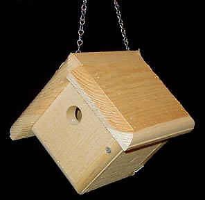 Window bird house plans - Details About Bird House House Wren Metal Chain For Hanging Wren Nest