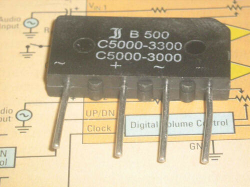 C500C 5000-3300 SI BRIDGE RECTIFIER 1000V 5.0A  1PC