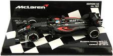 Minichamps McLaren Honda MP4-31 chino GP 2016-Fernando Alonso 1/43 Escala