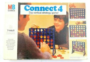 Vintage-Connect-4-1975-Edition-Game-Connect-Four-Complete-Made-in-West-Germany