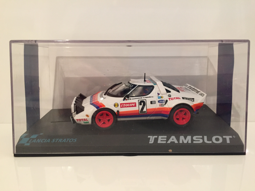 Team Slot 11513 Lancia Stratos Tour De France 1980 Nuovo 1:3 2 Scala
