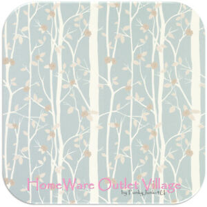 Laura Ashley Cottonwood Duck Egg Wallpaper Free Delivery