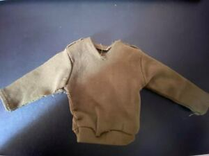 VINTAGE PALITOY/HASBRO ACTION MAN KHAKI/GREEN JUMPER GOOD CONDITION FOR AGE