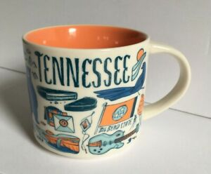 Starbucks 2019 Been There Series Tennessee 14 oz Mug Cup  EUC