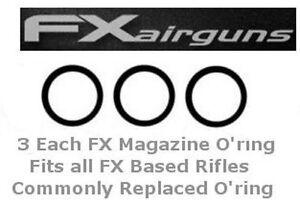 FX-Air-Rifle-Magazine-O-Ring-Also-for-RWS-amp-Webley-3-Each