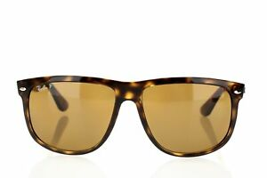 Ray-Ban-Men-039-s-RB4147-Polarized-167828-Square-Sunglasses-Tortoise-Brown-Lens-60