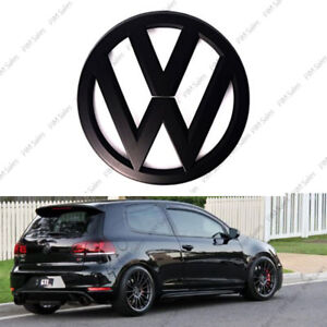 vw volkswagen golf mk5 v heck schwarz matt plaketten logo. Black Bedroom Furniture Sets. Home Design Ideas