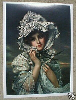 MARTIN KAVEL Yard Long Print Lady Victorian Wedding Dress BEAUTIFUL EMILY
