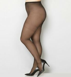 NEW-Avenue-Body-Comfort-Pantyhose-Sizes-1x-2x-3x-4x-C-D-E-EE-Coffee-Black-Beige