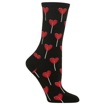 Valentine/'s Day Lollipop Socks Women/'s NEW Candy Sucker Hearts Hot Sox Fun