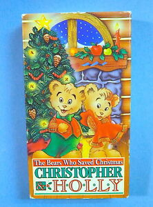 The Bears Who Saved Christmas.Details About Christoper Holly Bears Who Saved Christmas Cartoon Vhs Like New