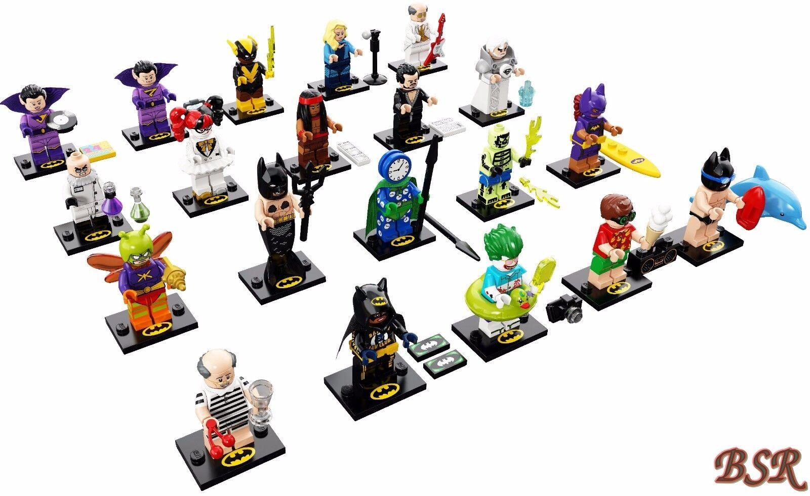 71020 LEGO ® Spécial-série the Batman Movie Série 2 tous les 20 personnages NEUF 0. - Expédition