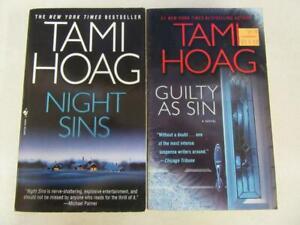 Complete Set Of 2 Tami Hoag Thriller Mystery Books Deer Lake Minnesota Series Ebay