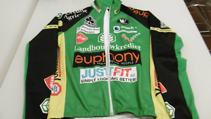 Colnago Euphony Vermarc  WindTex Jersey  Size S-2-46  Made In  100%  NOS  brand outlet