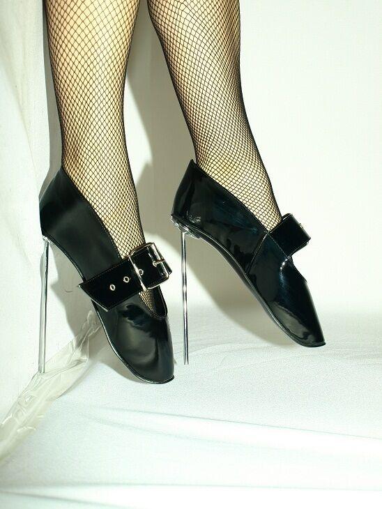 pumps ballet highs heels producer Poland-heels 21cm stal-size 37-47