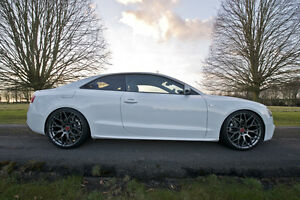 20 audi a5 s5 rs5 alloy wheels raywell jrr gunmetal grey 5x112 ebay. Black Bedroom Furniture Sets. Home Design Ideas