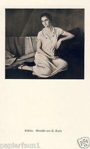 Bildnis Kunstdruck von 1926 S. Sorin dame Kleid Sofa - Waldburg, Deutschland - Bildnis Kunstdruck von 1926 S. Sorin dame Kleid Sofa - Waldburg, Deutschland