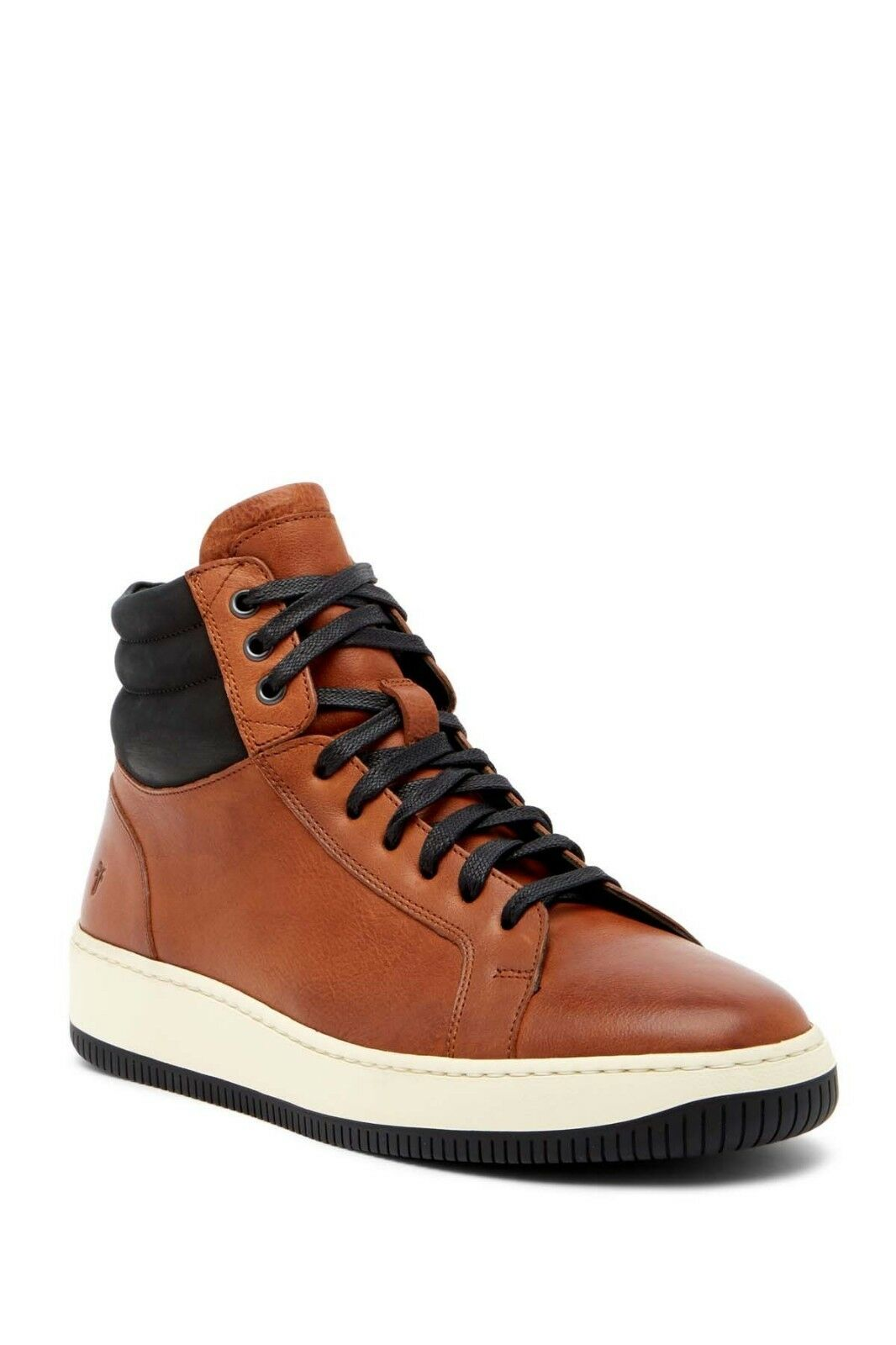 470 Authentic Rare FRYE Men's Wythe High Top Lace Up Leather Sneakers Trainers