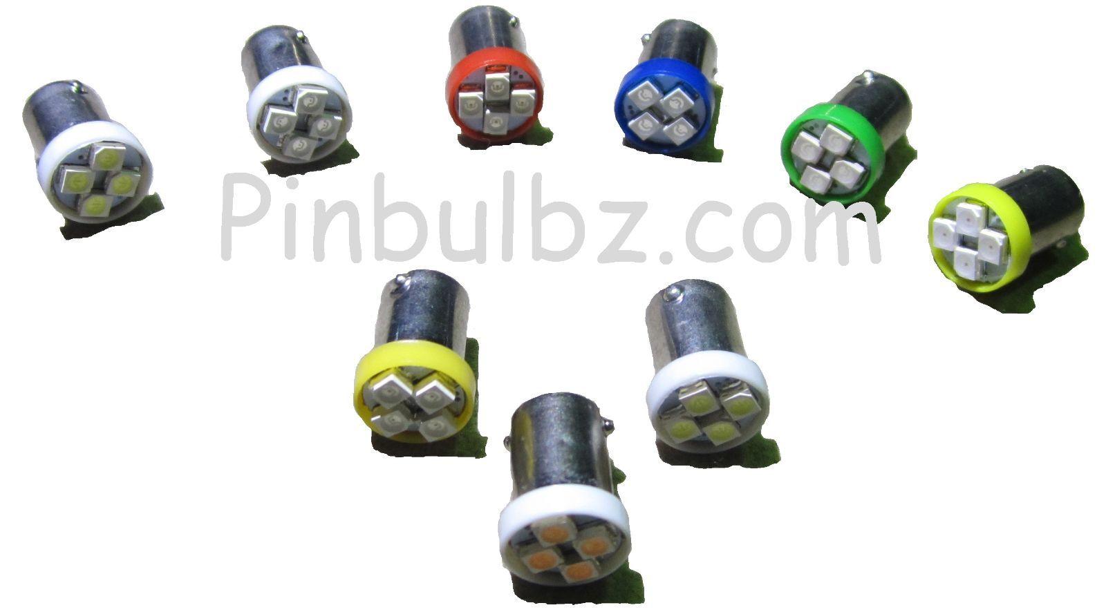 Flipper Ampoules Led  100 Pièces Vert 112 119cmSuper Brillant Quad   4LED 6.3v  vendre comme des petits pains