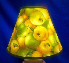 Granny Smith Golden Delicious Apple Lampshade Green Apples Handmade Lamp Shade