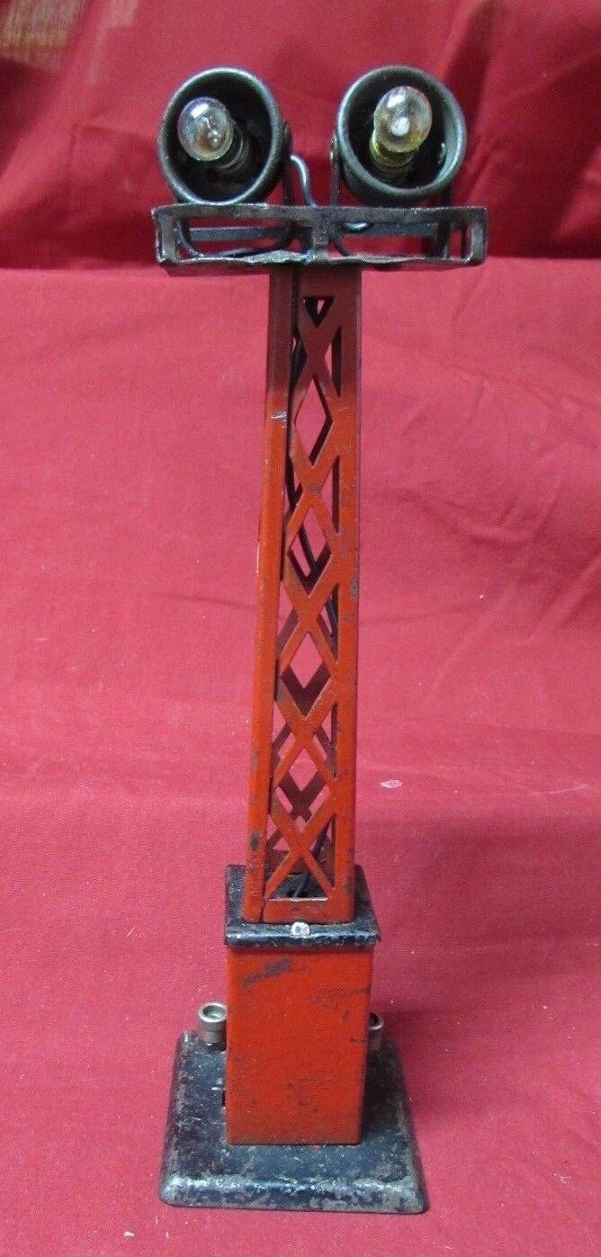 Vintage Lionel post guerra del ferroCocheril de trabajo inundación lámparas ob