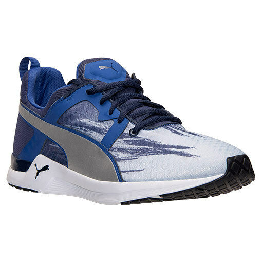 PUMA PULSE XT FADE FITNESS SNEAKERS MEN SHOES BLUE/WHITE 188678-05 SIZE 11 NEW