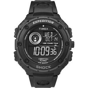 Timex-Expedition-Shock-Outdoor-Digitaluhr-20ATM-Wasserdicht-Indiglo-Licht-50-mm