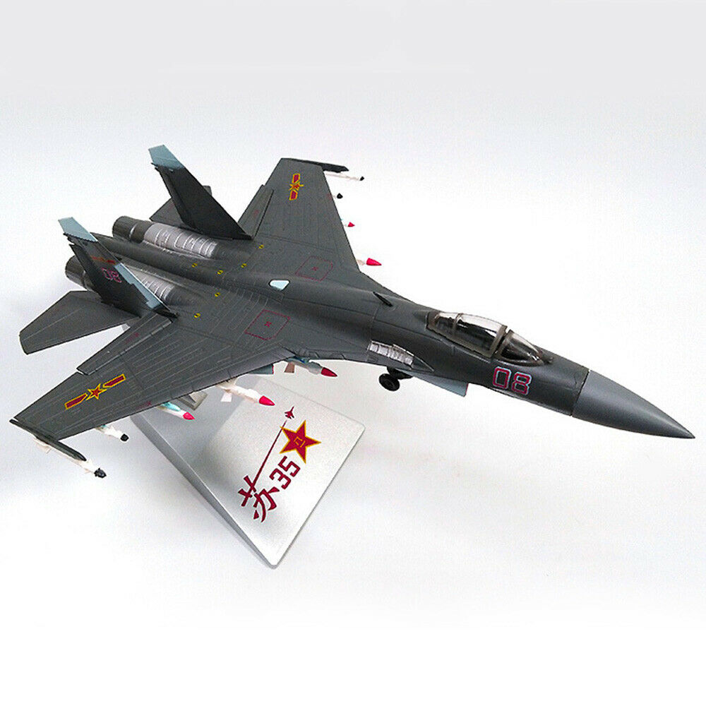 1 72 Russian SU-35 Super Flanker Fighter Diecast Alloy Model For Kids Collector