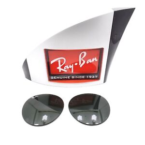 5bb6bad422c Image is loading RAY-BAN-REPLACEMENT-LENSES-AVIATOR-3447-Green-New-