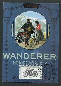 BERLIN-MK-1983-MOTORRADER-WANDERER-MOTORCYCLE-CARTE-MAXIMUM-CARD-MC-CM-d7046