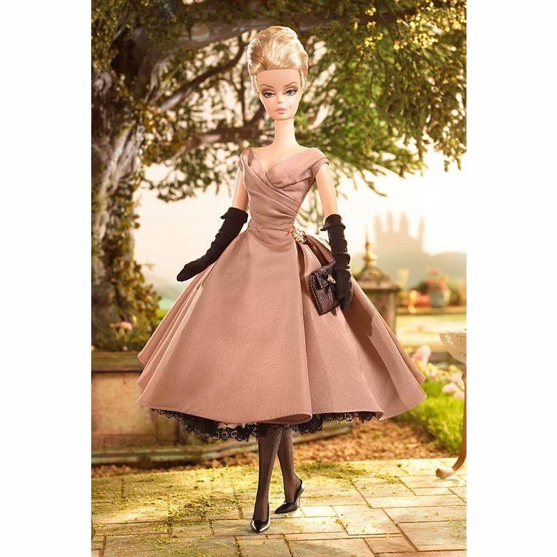 Colección de modelos de moda alta Tea & Savories oro Label Barbie Muñeca De Colección