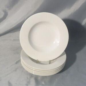 Wonderful-World-034-white-034-v-Villeroy-amp-Boch-6-Suppenteller-23-5-cm