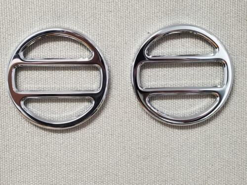Manticore Chrome Billet Aluminium Running Light Guards HUMMER H2 SUV /& SUT