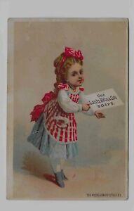 Victorian Trade Card ** LAUTZ BROS. SOAPS * ACME SOAP