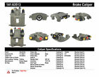 Disc Brake Caliper-Premium Semi-Loaded Caliper Rear Right Centric Reman