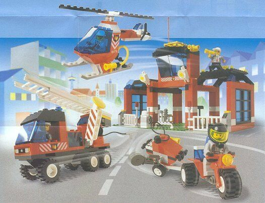 LEGO Town Fire, Fire, Fire,  6478 Fire Fighters' HQ  New Sealed Set 94cee3