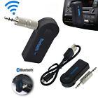 3.5mm Wireless USB Mini Bluetooth Aux Stereo Audio Music Car Adapter Receiver #F