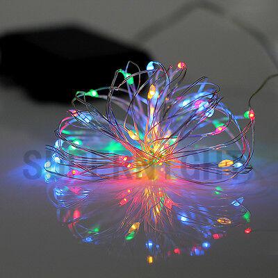 SUPERNIGHT® 5M 50LEDs Copper Wire LED String Fairy Light RGB+Warm White + Remote