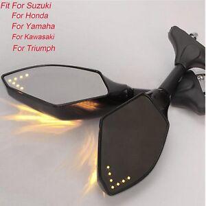 2-Rueckspiegel-mit-Led-Blinker-fuer-Suzuki-GSXR-600-750-1000-SV650-GSF-1200-BANDIT