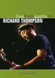 Richard Thompson - Live Da Austin Tx Nuovo DVD
