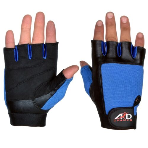 ARD Weight Lifting Gloves Strengthen Training Fitness Gym Exercise Workout Blue