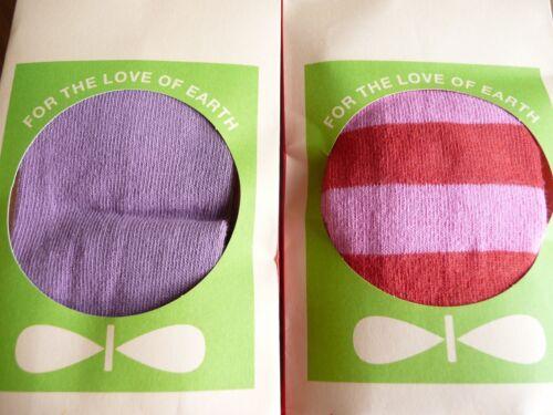 Katvig Organic AW11 Baby /& Toddler Stockings//Tights Lollipop Stripe /& Dust Grape