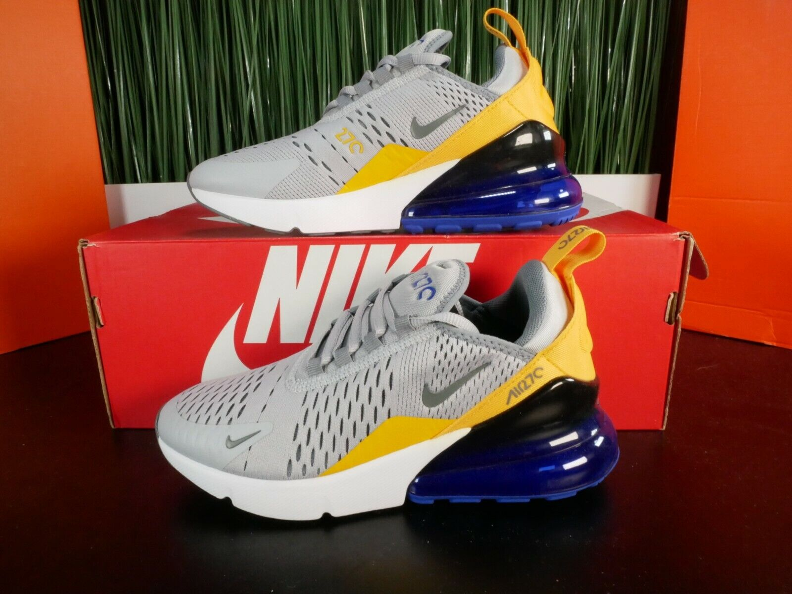 2018 Womens Nike Air Max 270 Flat Gold Size 5 Deadstock Rare For